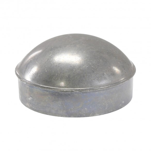 "2 1/2"" Die Cast Aluminum Dome External Round Post Caps (Fits 2 3/8"" OD)"