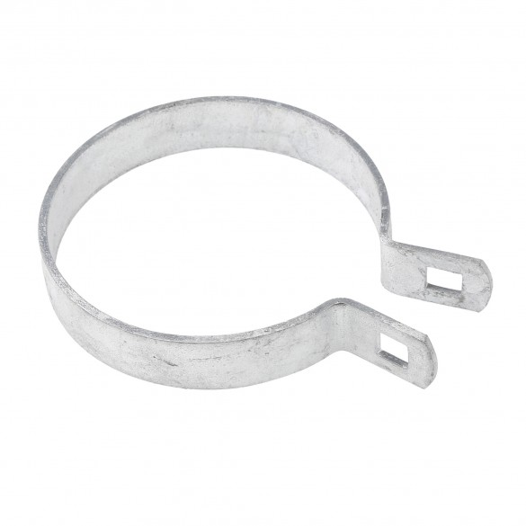 "Chain Link 3 1/2"" Brace Band [12 Gauge] - Rail End Band (Galvanized Steel)"