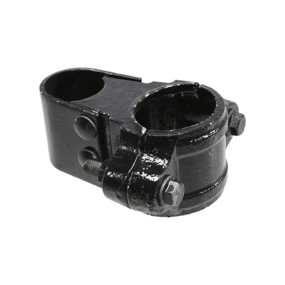 "Chain Link 3"" [2 7/8"" OD] Black Box Hinge Malleable - Butt Hinge (Malleable Steel)"