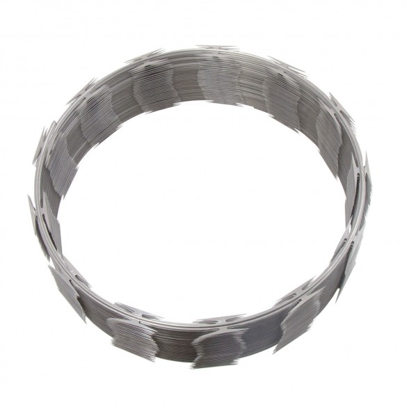 Stainless Steel Barbed Security Tape - Razor Ribbon (50')