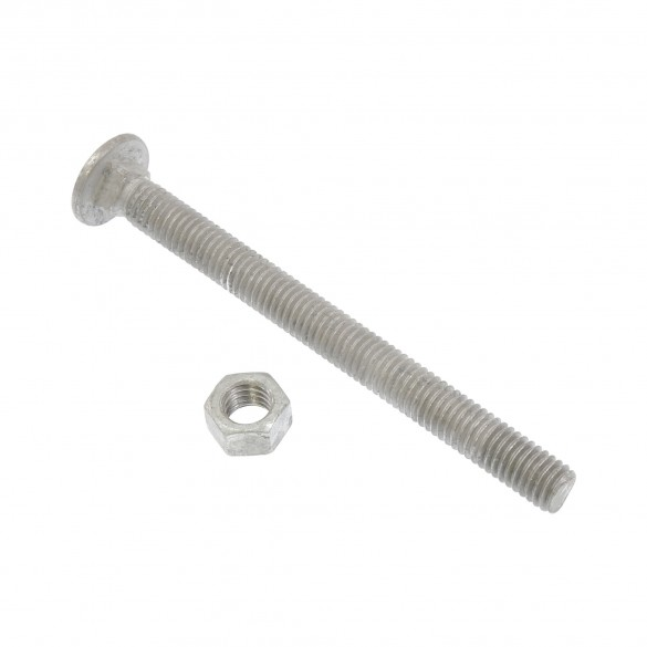 """3/8"""" x 4 1/2"""" Carriage Nut and Bolt"""
