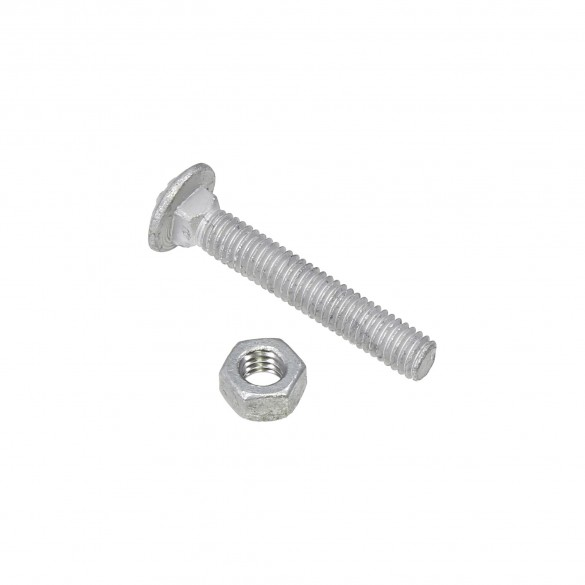 """5/16"""" x 2"""" Carriage Bolts & Nuts"""