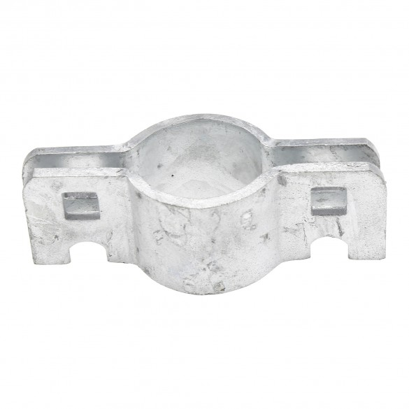 """Chain Link 1 3/8"""" Drop Fork Collar for Gate Latch Assemblies - Fork Clamp (Steel)"""