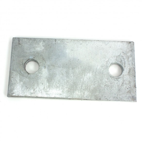 "1/4"" x 3"" x 6"" Galvanized Base Plates"