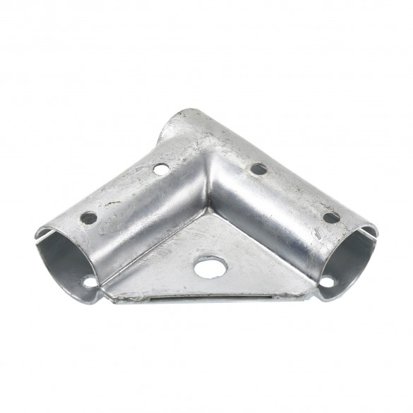 """Chain Link 1 5/8"""" x 1 5/8"""" Gate Corner for 90° Angles - Gate Elbow (Pressed Steel)"""