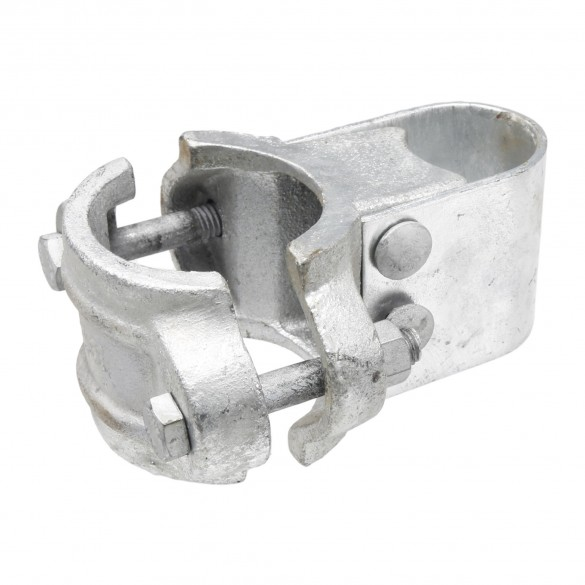 "Chain Link 3"" [2 7/8"" OD] Industrial Gate Box Hinge - Butt Hinge (Galvanized Cast Steel)"