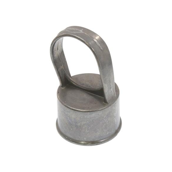 """Die-Cast Aluminum 1 5/8"""" (1 5/8"""" OD) x 1 3/8"""" (1 3/8"""" OD) Top Rail Eye Top Loop Caps"""