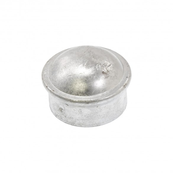 "1 3/8"" Steel Dome External Round Post Caps (Fits 1 3/8"" OD)"