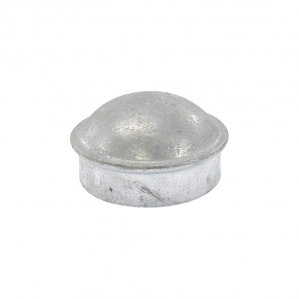 """2 1/2"""" Steel Dome External Round Post Caps (Fits 2 3/8"""" OD)"""