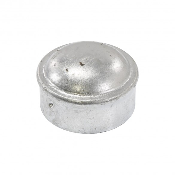 "2"" Steel Dome External Round Post Caps (Fits 1 7/8"" OD)"