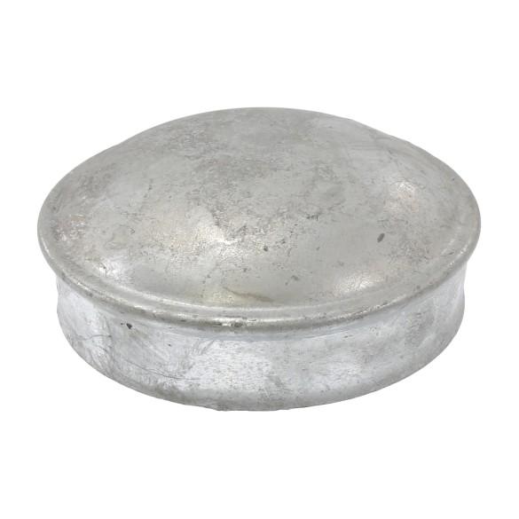 "4"" Galvanized Steel Dome External Round Post Caps"