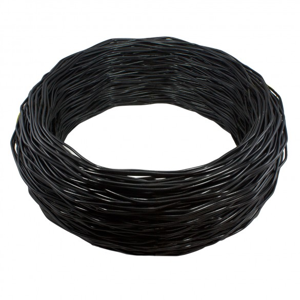 Black Spring Tension Wire