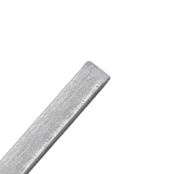 """72"""" High Galvanized Steel Chain Link Fence Tension Bars"""