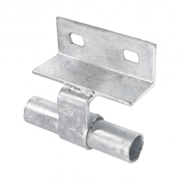 Chain Link Wall Mount Line Track Bracket - Safety Bracket (Galvanized Steel)