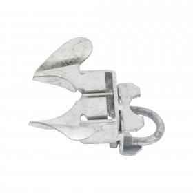 """1 3/8"""" x 2 1/2"""" Chain Link Fence Butterfly Gate Latch -  Two Way Galvanized Steel Fence Gate Latch"""