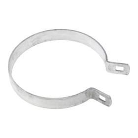 "Chain Link 4 1/2"" Brace Band [12 Gauge] - Rail End Band (Galvanized Steel)"