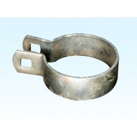 "Chain Link 8 5/8"" Heavy Brace Band [11 Gauge] - Rail End Band (Galvanized Steel)"