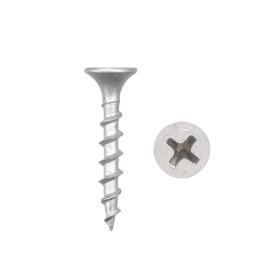 "Philips Bugle Head Deck Screw Grey 1"" Exterior Dacrotized Wood Screws (Steel)"