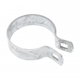 "Chain Link 3"" [2 7/8"" OD] Heavy Brace Band [11 Gauge] - Rail End Band (Galvanized Steel)"