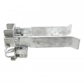 "Strong Arm Latch for Walk Gates fits 3"" Post and 1 5/8"" or 2"" Gate Frame"