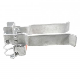 """Strong Arm Latch for Walk Gates fits 4"""" Post and 1 5/8"""" or 2"""" Gate Frame"""