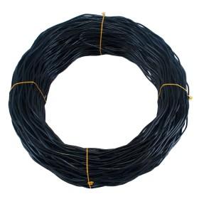Chain Link 1000' Black Spring Tension Wire [6 Gauge] (Steel)