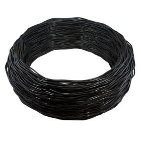 Chain Link 1000' Black Spring Tension Wire [7 Gauge] (Steel)