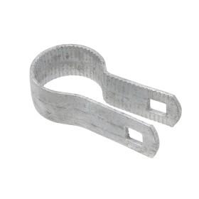 "Chain Link 1 3/8"" Beveled Tension Band [12 Gauge] (Galvanized Steel)"