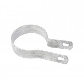"""Chain Link 2 1/2"""" [2 3/8"""" OD] Beveled Tension Band [12 Gauge] (Galvanized Steel)"""