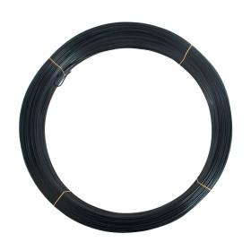 Chain Link Black 1Utility Wire [9 Gauge] (Steel) - 1,200' Long, 50 lbs.
