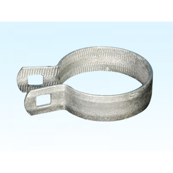 "3 1/2"" Beveled Brace Band / Rail End Band"