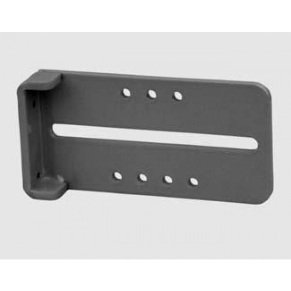 Strike Latch Receiver Bracket (Black)
