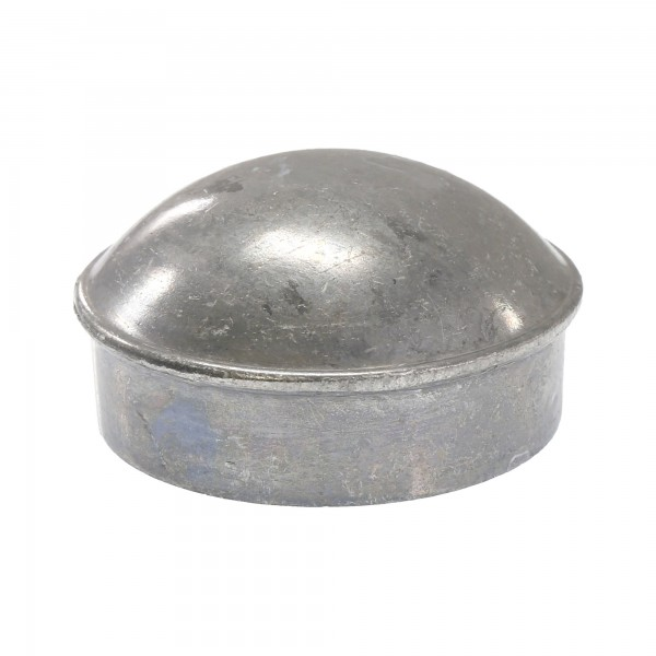 "2"" Die Cast Aluminum Dome External Round Post Caps (Fits 1 7/8"" OD)"