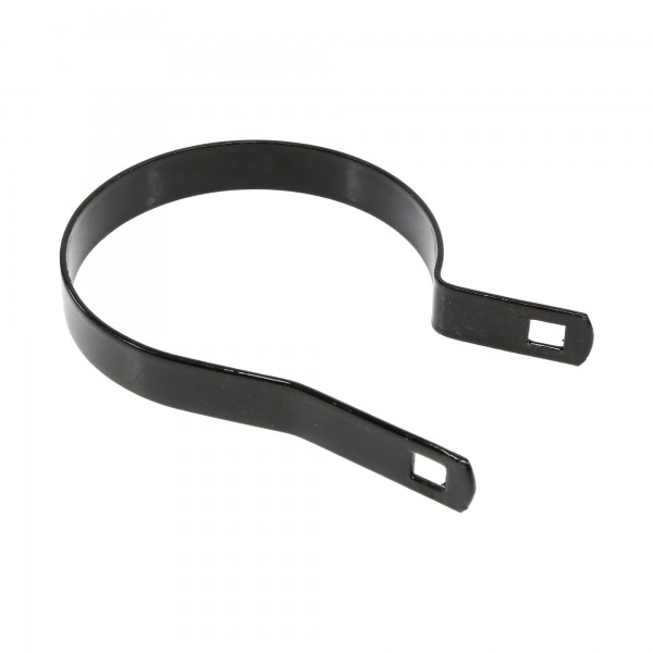 "Chain Link 4"" Black Tension Band [14 Gauge] (Galvanized Steel)"
