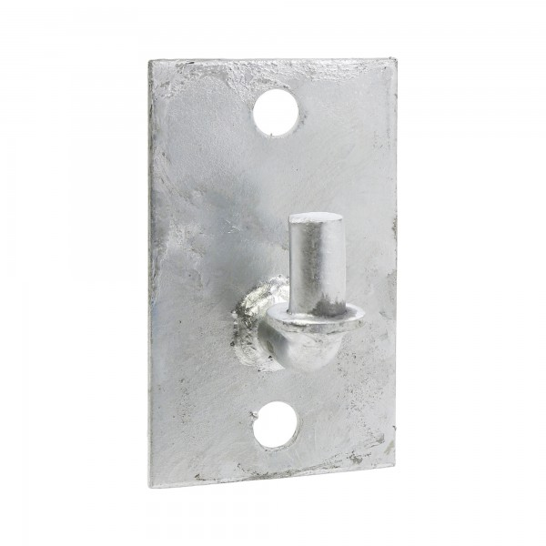 Flat Back Male Wall Gate Hinge - Heavy Duty
