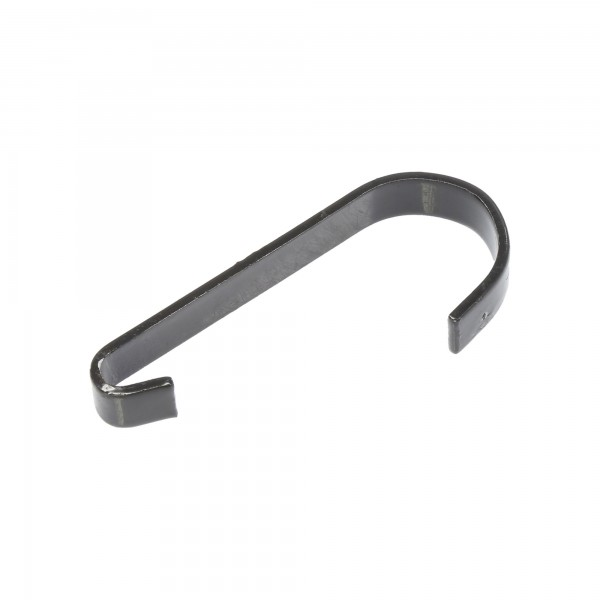 "Chain Link 1/2"" Black Gate Clips (Steel)"