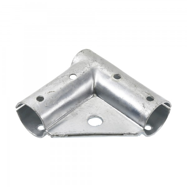 "Chain Link 1 5/8"" x 1 5/8"" Gate Corner for 90° Angles - Gate Elbow (Pressed Steel)"