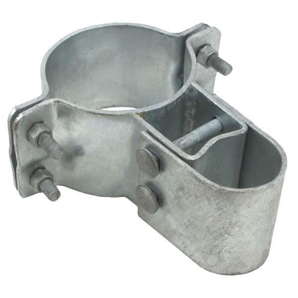 """4"""" Industrial Gate Box Hinge, Pressed Steel"""