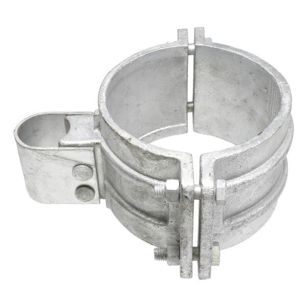 "Chain Link 6 5/8"" Industrial Gate Box Hinge - Butt Hinge (Galvanized Cast Steel)"