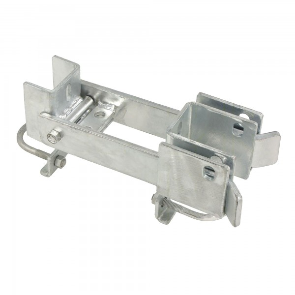 """Fulcrum Double Drive Industrial Gate Latch Commercial Grade 1 5/8"""" or 2"""" Frame"""