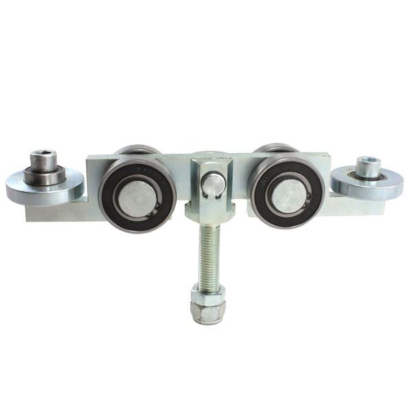 """4-Wheel Truck Assembly 2"""" Guide Wheels, 2"""" Standard Bearings"""
