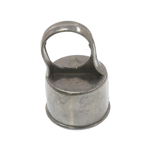 """Die-Cast Aluminum 2"""" (1 7/8"""" OD) x 1 3/8"""" (1 3/8"""" OD) Top Rail Eye Top Loop Caps"""