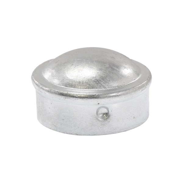 "1 5/8"" Steel Dome External Round Post Caps (Fits 1 5/8"" OD)"