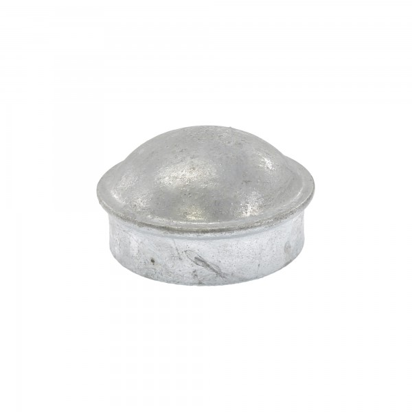 "2 1/2"" Steel Dome External Round Post Caps (Fits 2 3/8"" OD)"