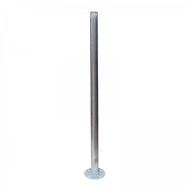 "2"" Round Support Post On Plate"