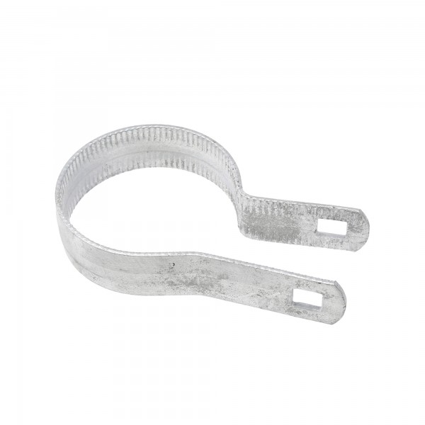 """2 1/2"""" Beveled Tension Band Galvanized Steel (Fits 2 3/8"""" OD)"""