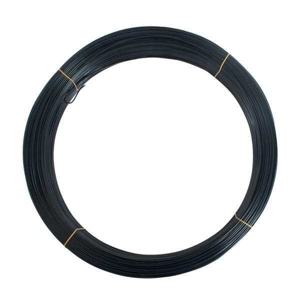 9 Gauge Black Fence Utility Wire (50 lbs)