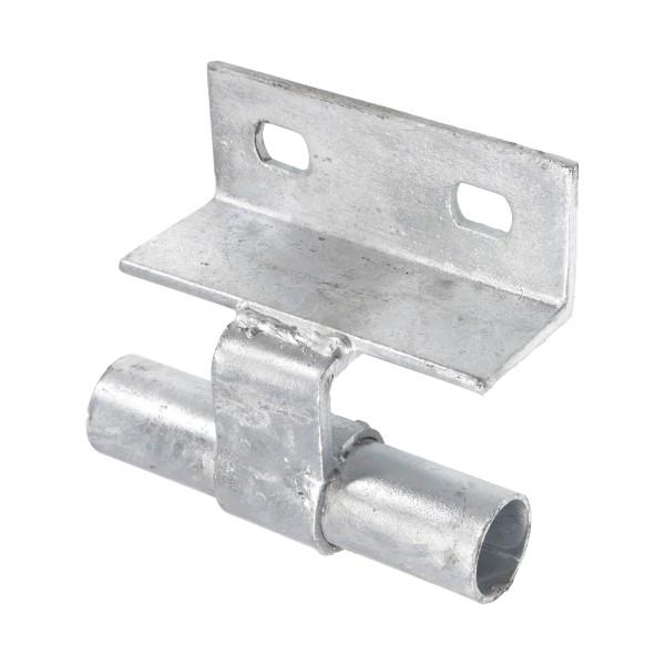 Chain Link Wall Mount Line Track Bracket - Safety Bracket (Galvanized Steel)