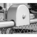 Chain Link Universal Protective Roller Cover Guard for Stealth Top Gate Rollers - Safety Cover (Polyethylene)