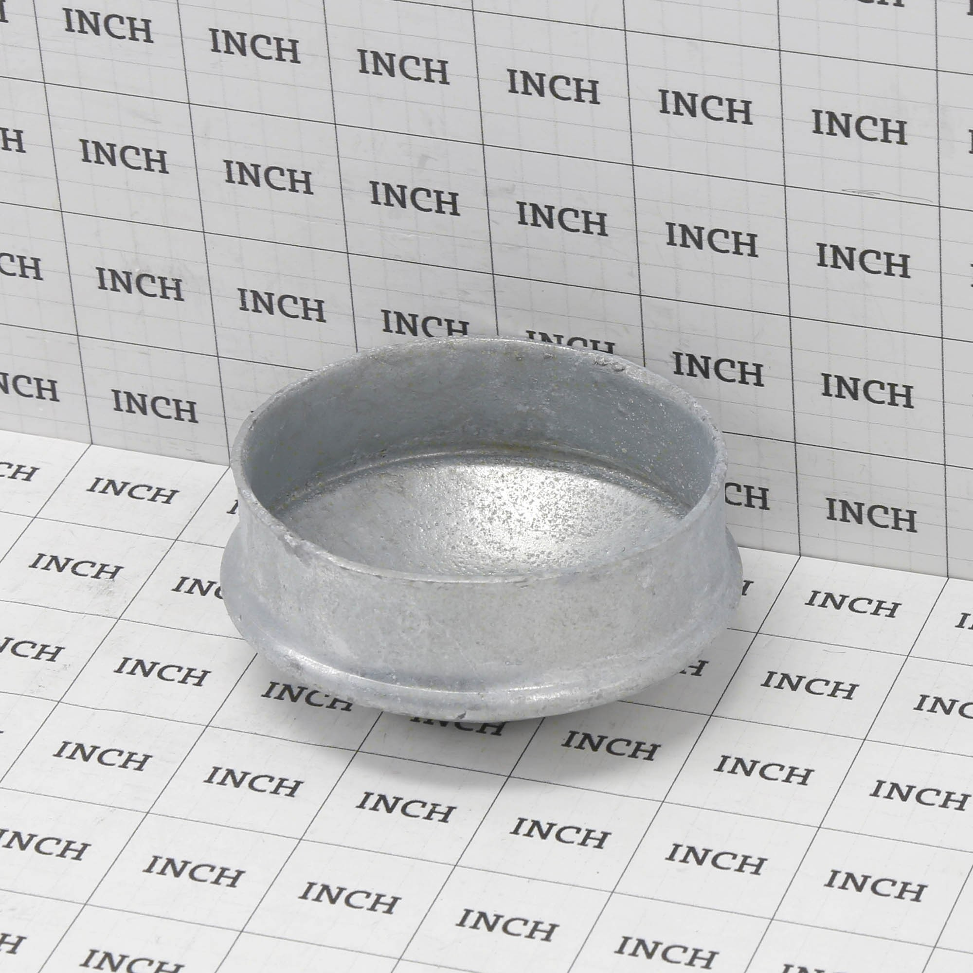 """3/"""" Galvanized Steel Dome External Round Post Caps Fits 2-7//8/"""" OD Pipe"""